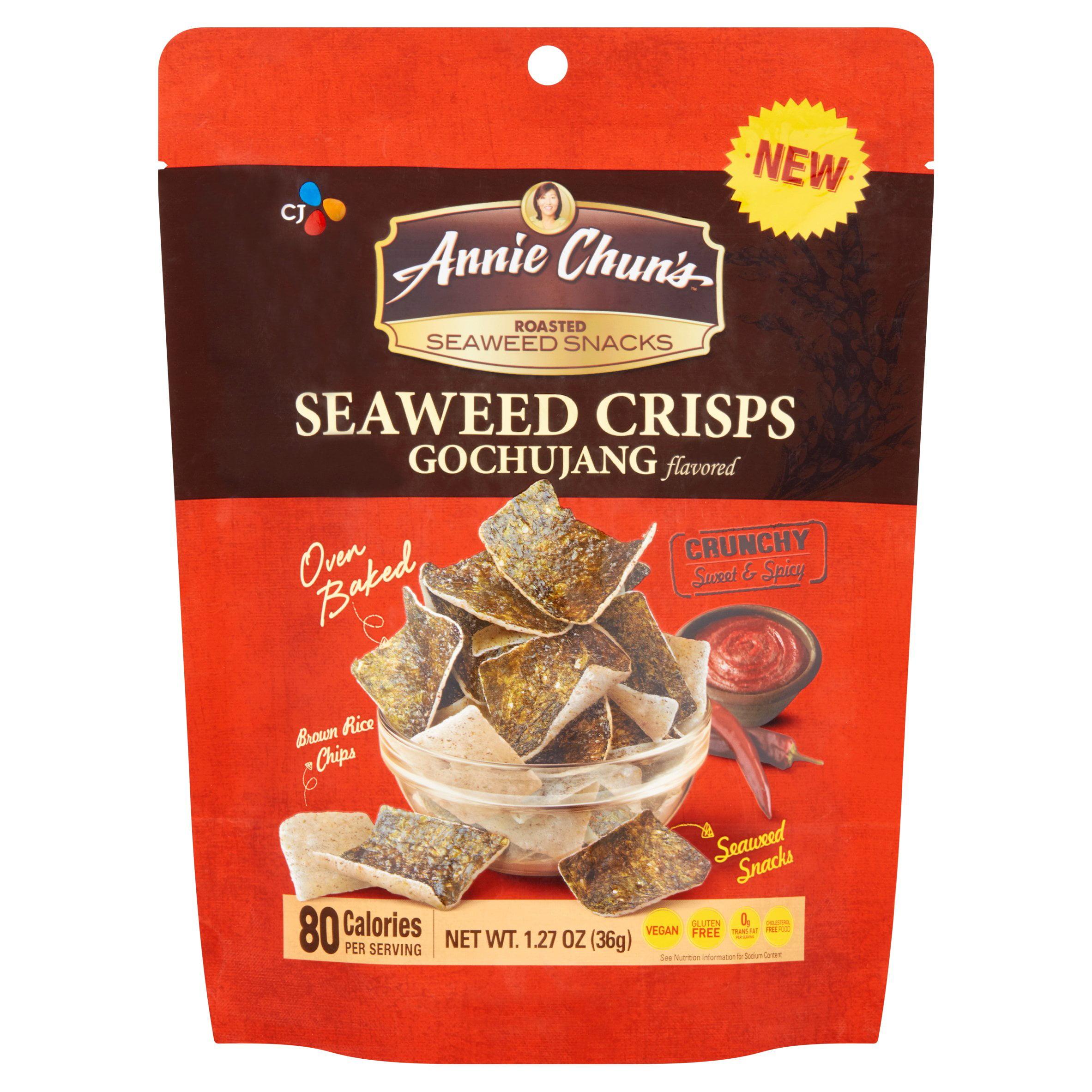 Annie Chuns Seaweed Crisps, Gochujang Flavored by CJ Foods, Inc.
