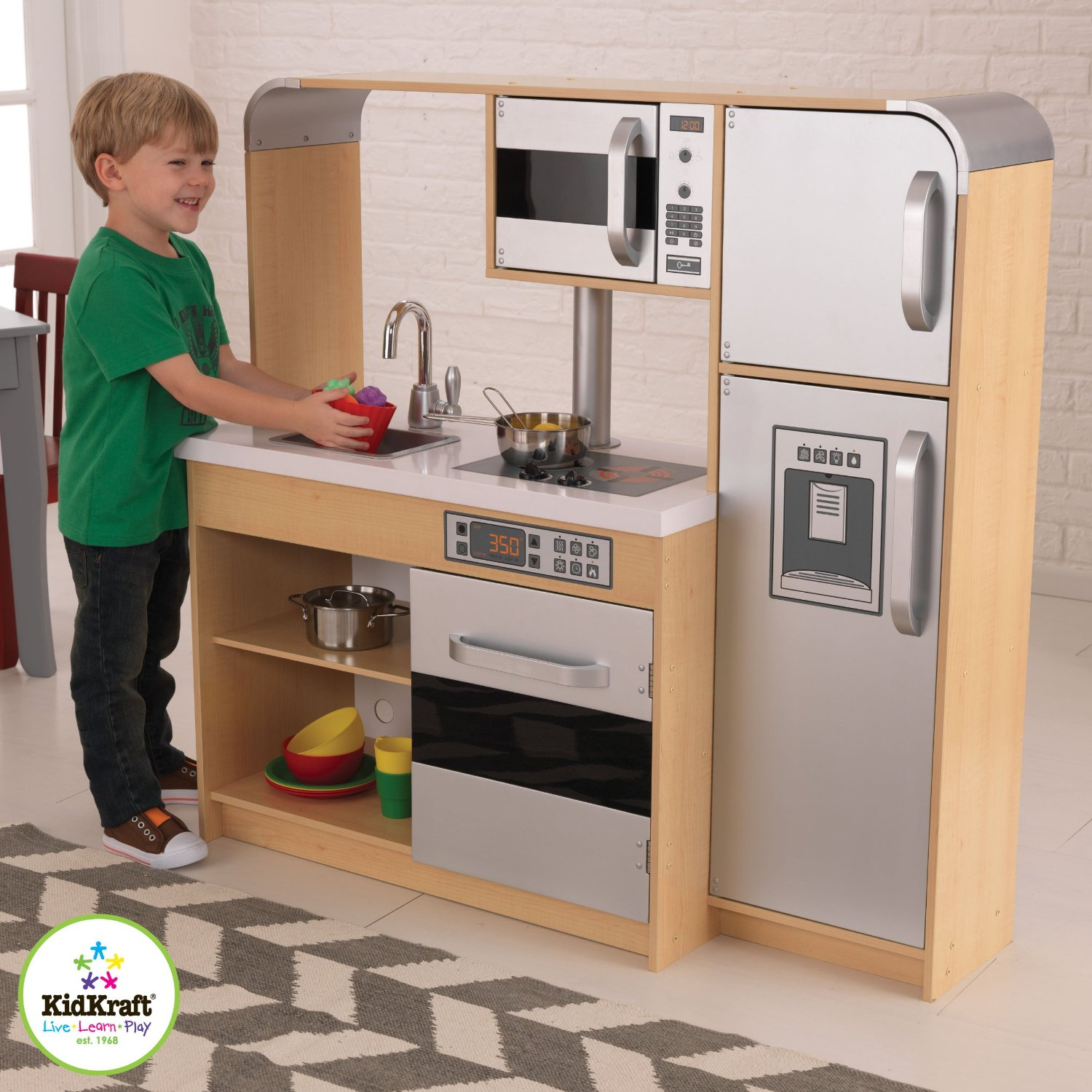 Kidkraft Ultimate Chefs Kitchen Walmart Com