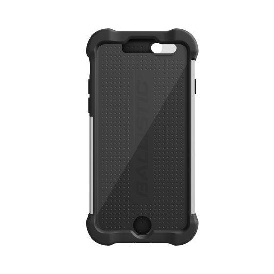 designer fashion 8251e 7e699 Apple iPhone 6/6S Ballistic Tough Jacket Case with Port Covers - Black/White