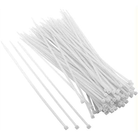 100pk 12in Universal Utility Cable Zip Tie Cable many size and thickness (Thickness Zip)