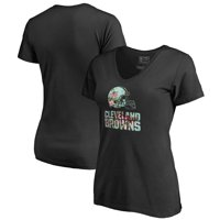 Product Image Cleveland Browns NFL Pro Line by Fanatics Branded Women s  Lovely V-Neck T-Shirt dd4db6d20e