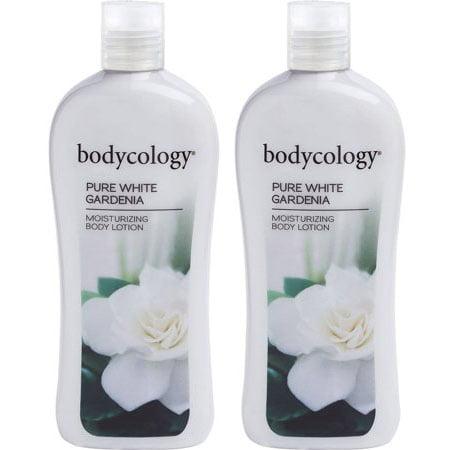 (2 Pack) Bodycology Pure White Gardenia Moisturizing Body Lotion, 12 oz