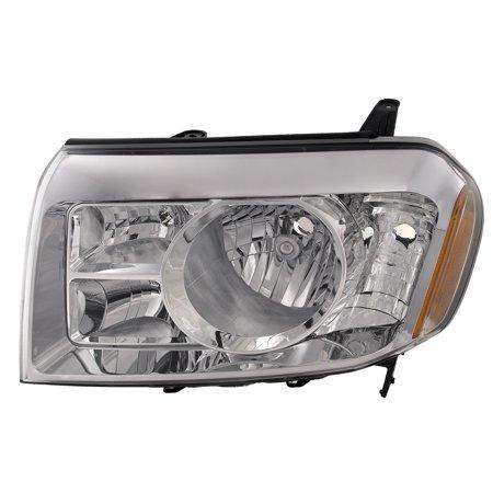 New Left Headlight Lamp - 2009-2011 Honda Pilot Driver Side New Headlight Left Halogen Headlamp Assembly HO2518125