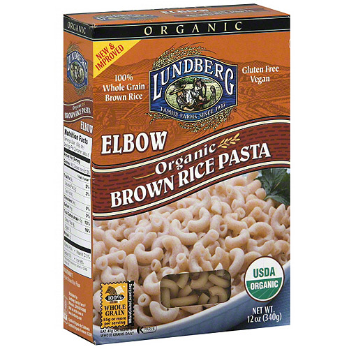 Lundberg Family Farms Elbow Brown Rice Pasta, 10 oz (Pack of 12)