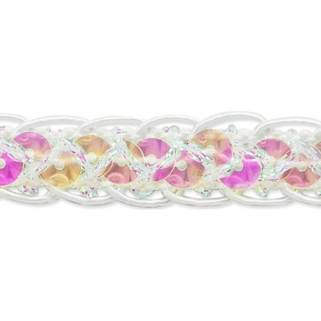 Thea Braided Sequin Trim 1/2