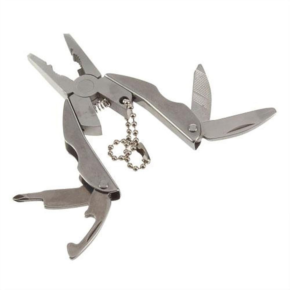 Jesuscrandsall Multi Function Folding Pocket Tool Plier Keychain