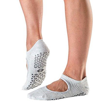 Tavi Noir Chey Mary Jane Organic Knit Non-Slip Grip Socks (Tavi