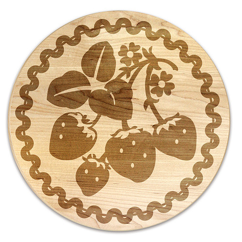 Martins Homewares Vintage Fruit Strawberry Trivet