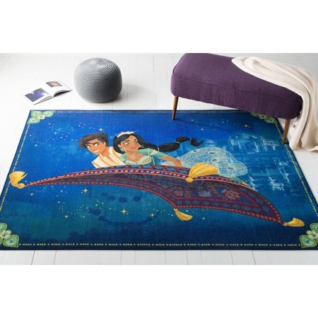 Safavieh Collection Inspired by Disney's live action film Aladdin - Aladdin and Jasmine Rug ()