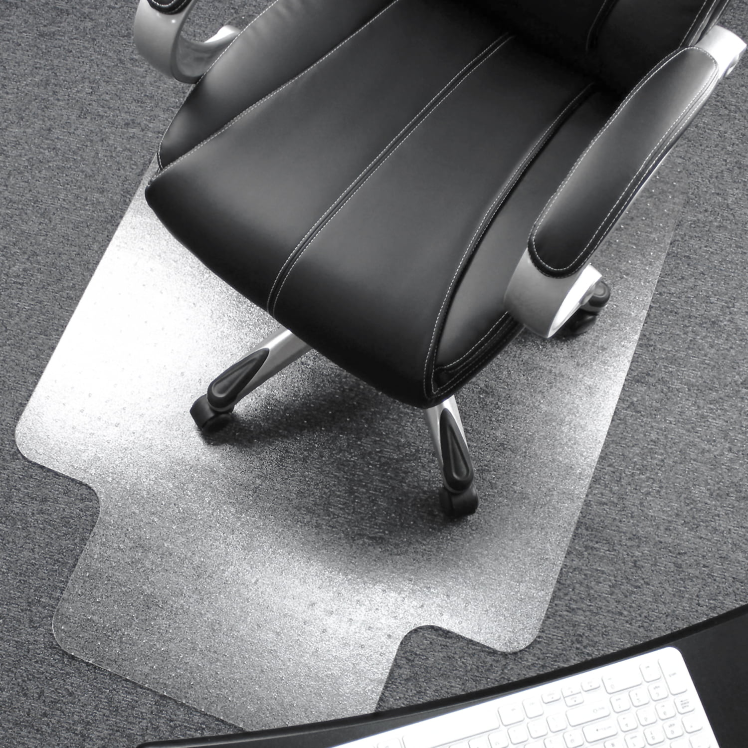 """High Qulity 48/""""x 36 Lipped Chair Mat for Low Standard and Medium Pile Carpets"""