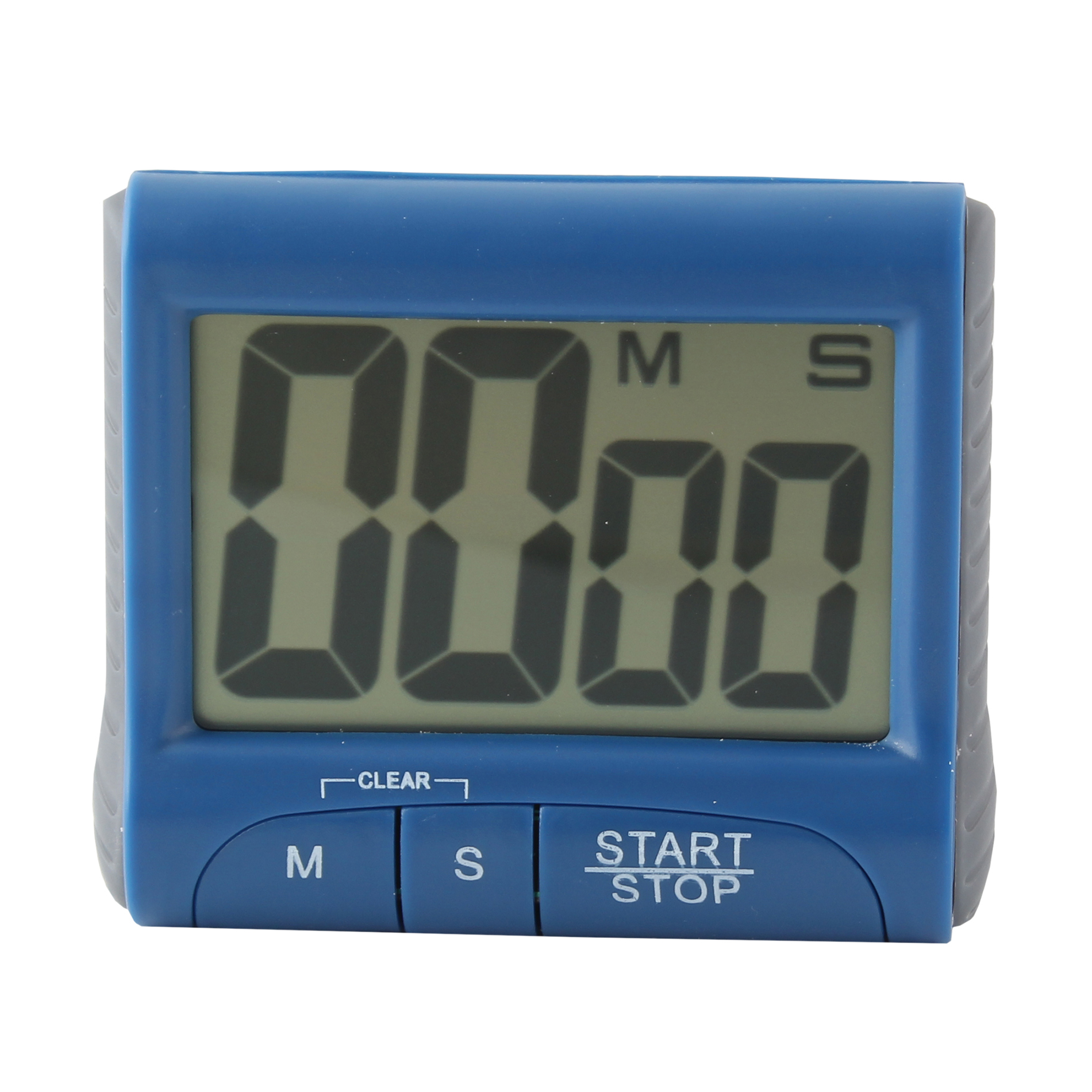 Digital Large LCD display Timer, Electronic Countdown Alarm Kitchen Timer, Blue by Unbranded