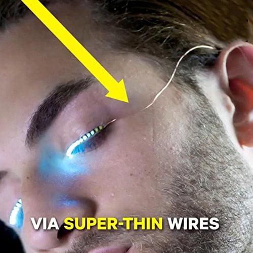 10 X LED Eyelashes Waterproof LED Light F. Lashes Luminou...