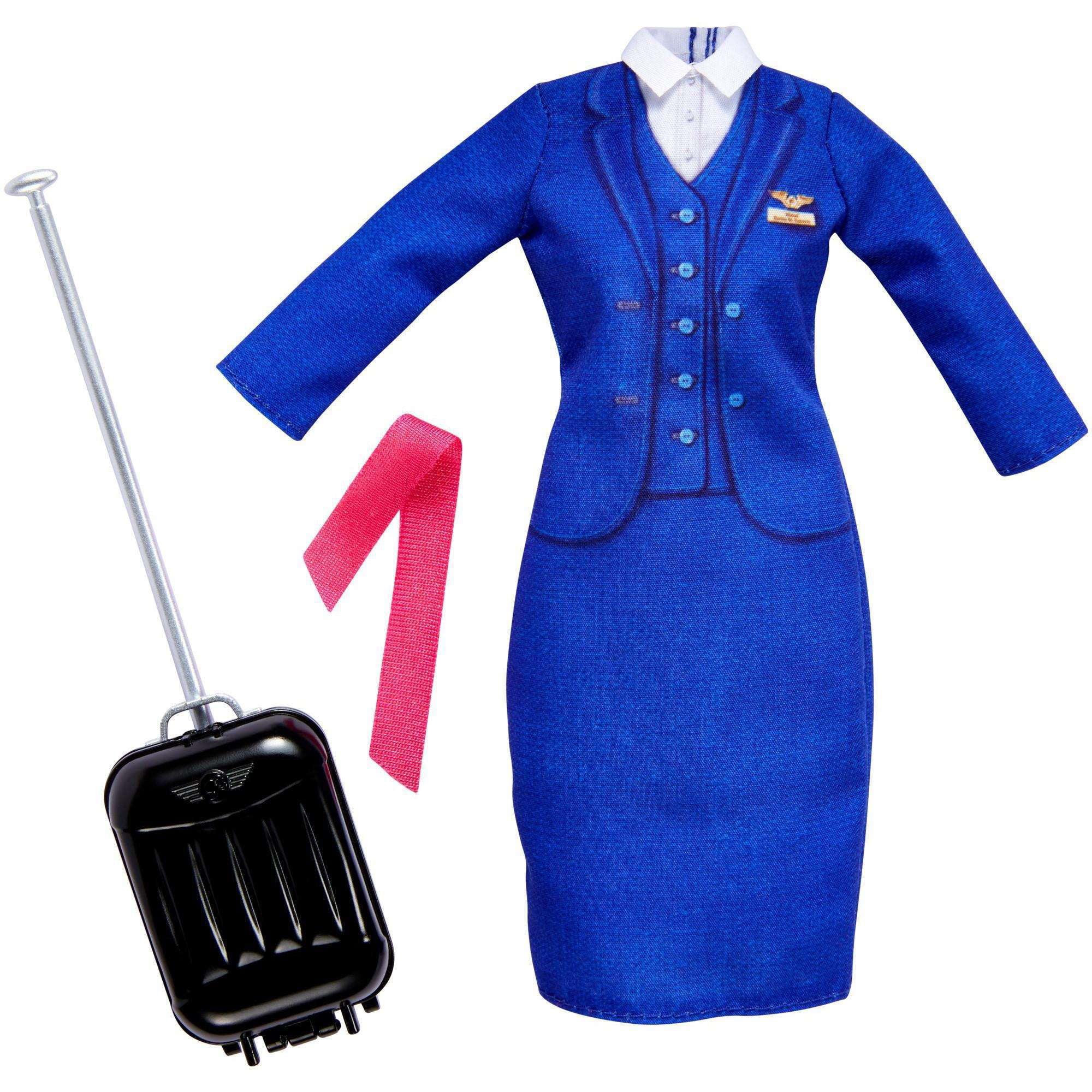 Barbie Career Fashion Pack, Flight Attendant