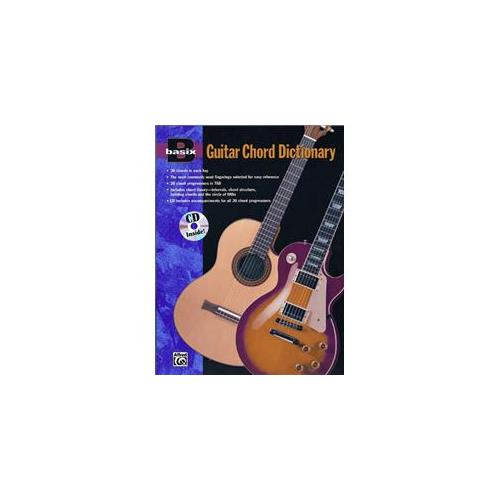 Alfred 00-16750 Basix- Guitar Chord Dictionary - Music Book