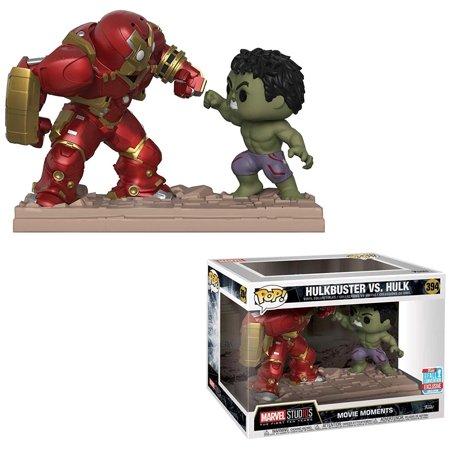 Funko POP! Marvel Hulkbuster Vs. Hulk Vinyl Bobble