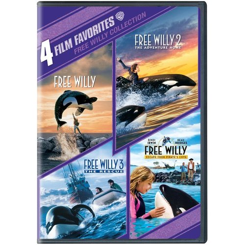 4 FILM FAVORITES-FREE WILLY 1-4 (DVD/2 DISC)