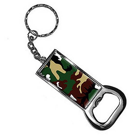 camouflage army soldier keychain key chain ring bottle bottlecap opener. Black Bedroom Furniture Sets. Home Design Ideas