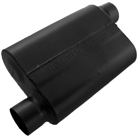 Flowmaster 43043 40 Series Muffler - 3.00 Offset In / 3.00 Offset Out - Aggressive -