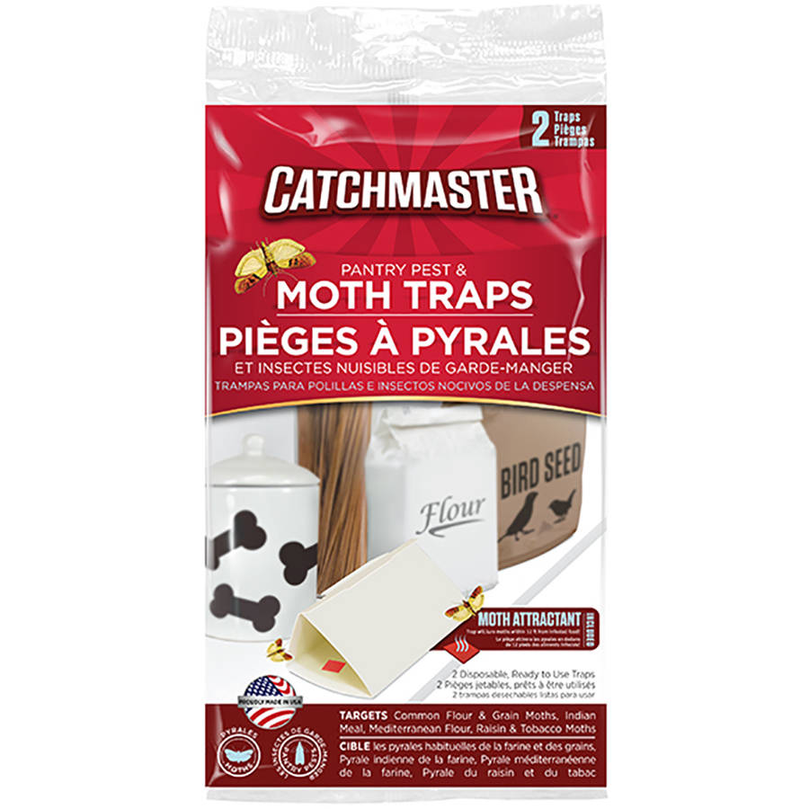 Catchmaster Pantry Pest Traps, 2 count