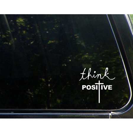 Think Positive (Cross) - 8-3/4