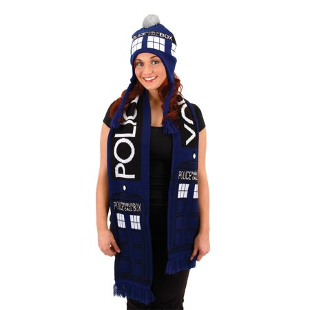 Who Costumes (Dr. Who Tardis Scarf Adult Halloween)