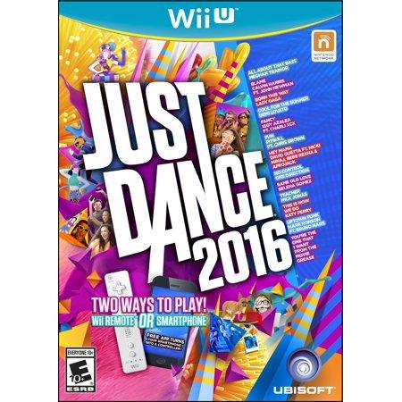 Just Dance 2016 Ubisoft Nintendo Wii U 887256014001 Walmart