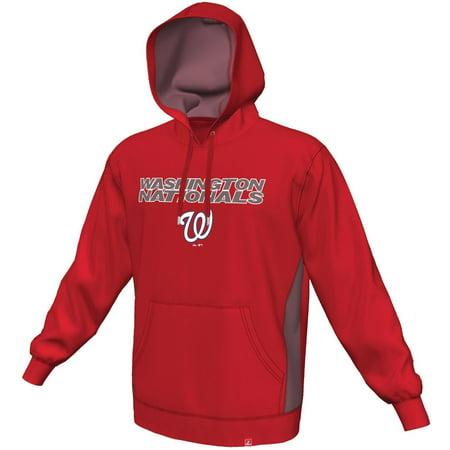 "Washington Nationals Majestic MLB ""Rookie Phenom"" Hooded Sweatshirt by"