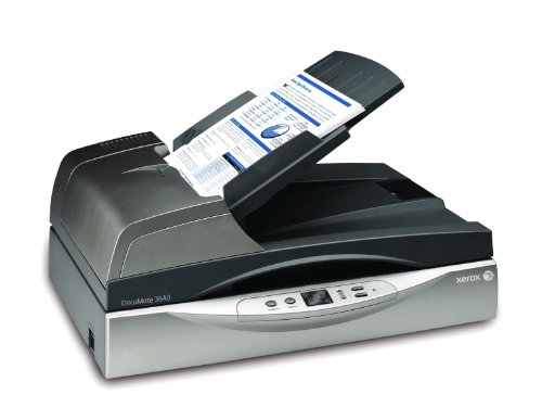 Xerox Documate 3640 Flatbed Scanner 24 Bit Color 8 Bit Grayscale Usb Visioneer Xdm36405m-wu (xdm36405mwu) by VISIONEER