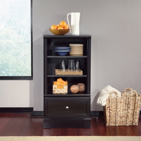 Sauder Palladia Technology Pier, Waxed Black