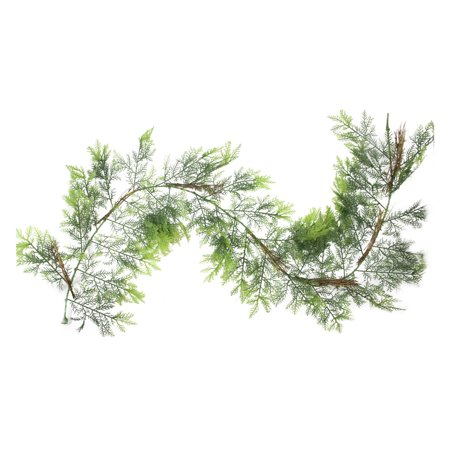 Northlight 2 Tone Cedar and Natural Twigs 6 ft. Artificial Christmas Garland