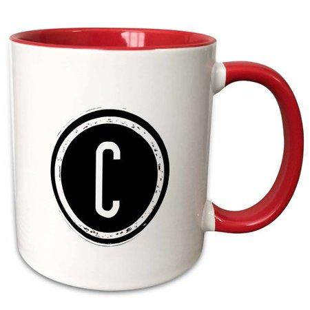Symple Stuff Fenderson The Letter Monogram Coffee Mug (Cheap Monogram Stuff)