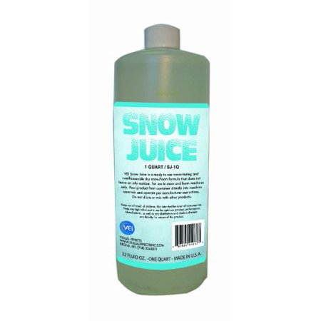 Visual Effects Inc SJ1Q Ve Snow Juice Quart