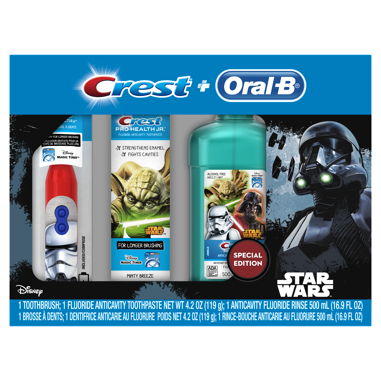 Crest & Oral-B Pro-Health Jr. Star Wars Premium Holiday Gift Set