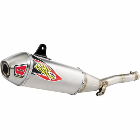 Pro Circuit 0131645A T-6 Slip-On - Aluminum Muffler with Removable Spark
