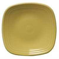 Fiesta 7-3/8-Inch Square Salad Plate, Sunflower