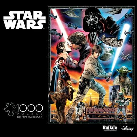 Star Wars Puzzle (Buffalo Games Star Wars - You'll Find I'm Full of Surprises - 1000 Piece Jigsaw)