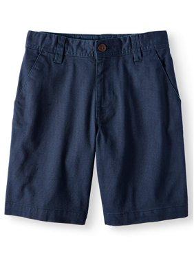 Wonder Nation Boys 4-18 Regular & Husky School Uniform Flat Front Shorts