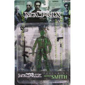 Matrix Agent Smith as Matrix Action Figure - image 1 de 1