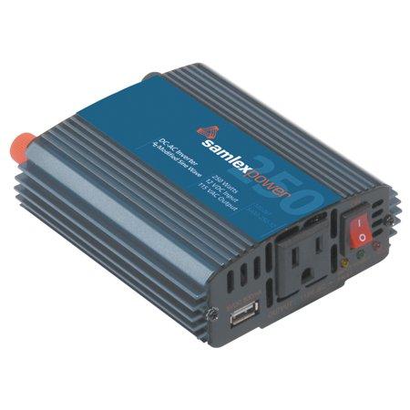 SamlexPower SAM-450-12 Sam Series 450W Modified Sine Wave Inverter with USB Charge Port