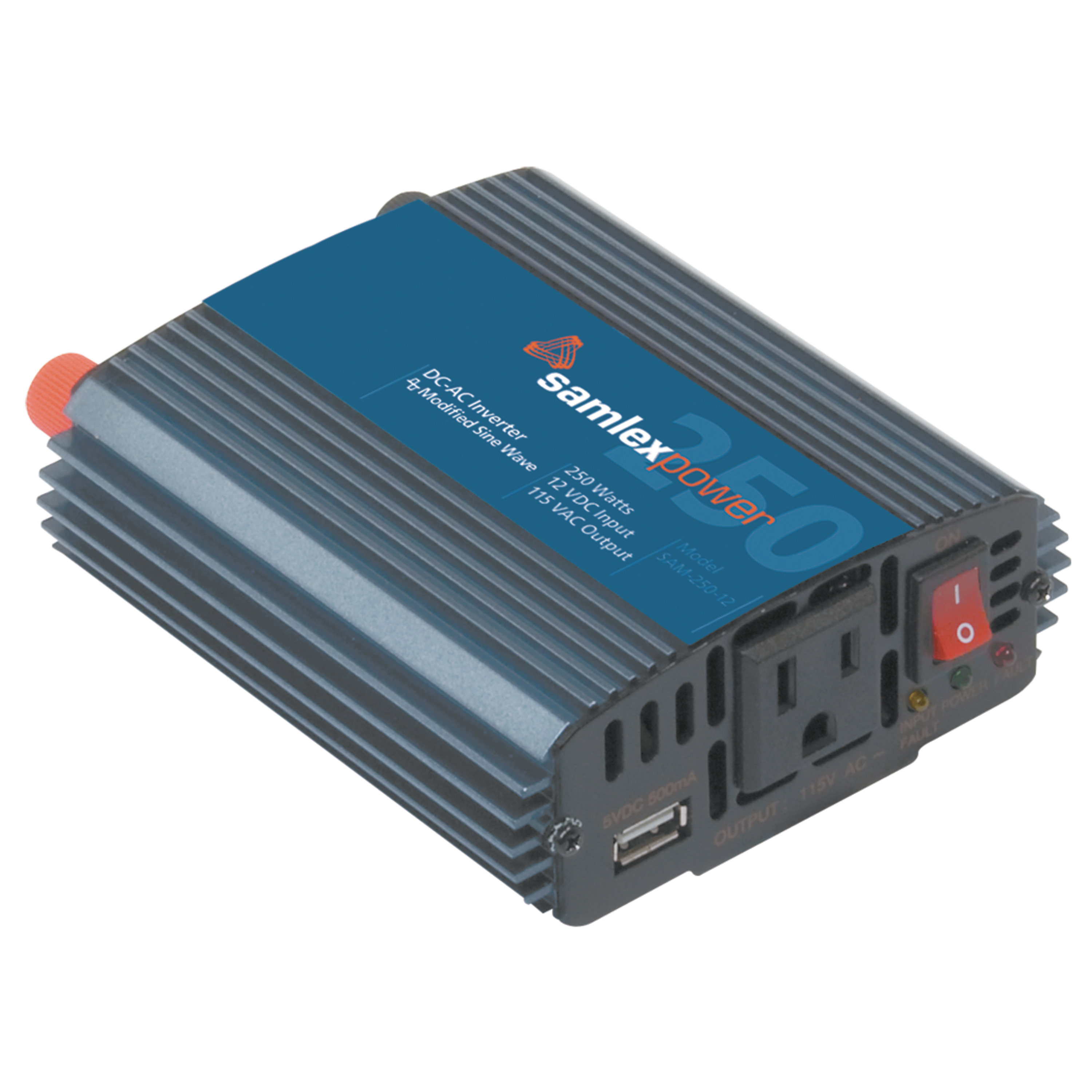 SamlexPower SAM-800-12 Sam Series 800W Modified Sine Wave Inverter with USB Charge Port