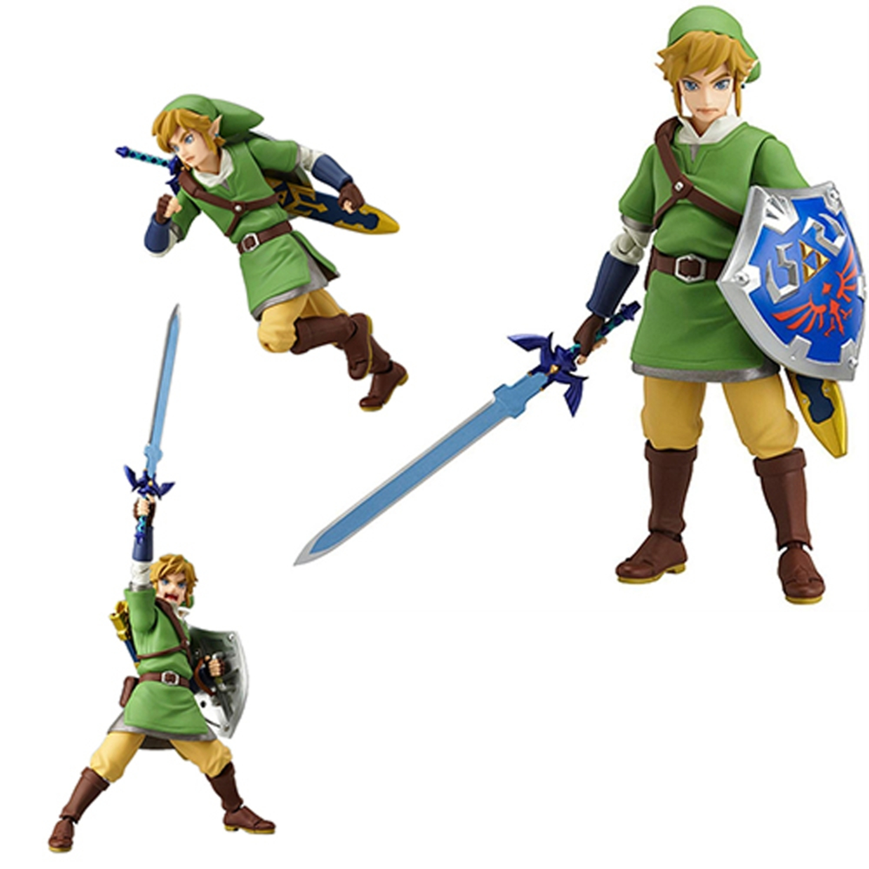 Toy - Figma - Vinyl Figure - Link The Legend of Zelda - Skyward Sword Figure (Christmas Gift Idea)