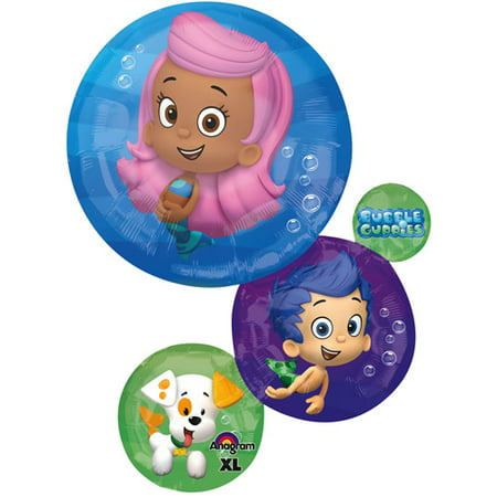 Bubble Guppies Shaped Balloon - Heart Shaped Balloon