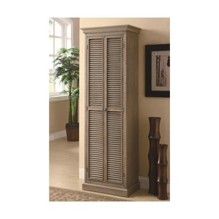 Coaster 950109 Accent Cabinets Tall Storage Cabinet With 2 Doors 4