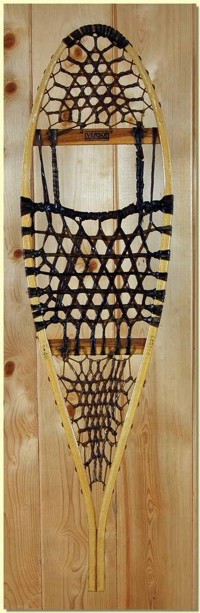 Iverson Michigan 12 X 46 Rawhide Snowshoes 240lb Capacity by