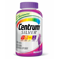 Centrum Silver Women (200 Count) Complete Multivitamin / Multimineral Supplement Tablet, Vitamin D3, Calcium, B Vitamins, Age 50+