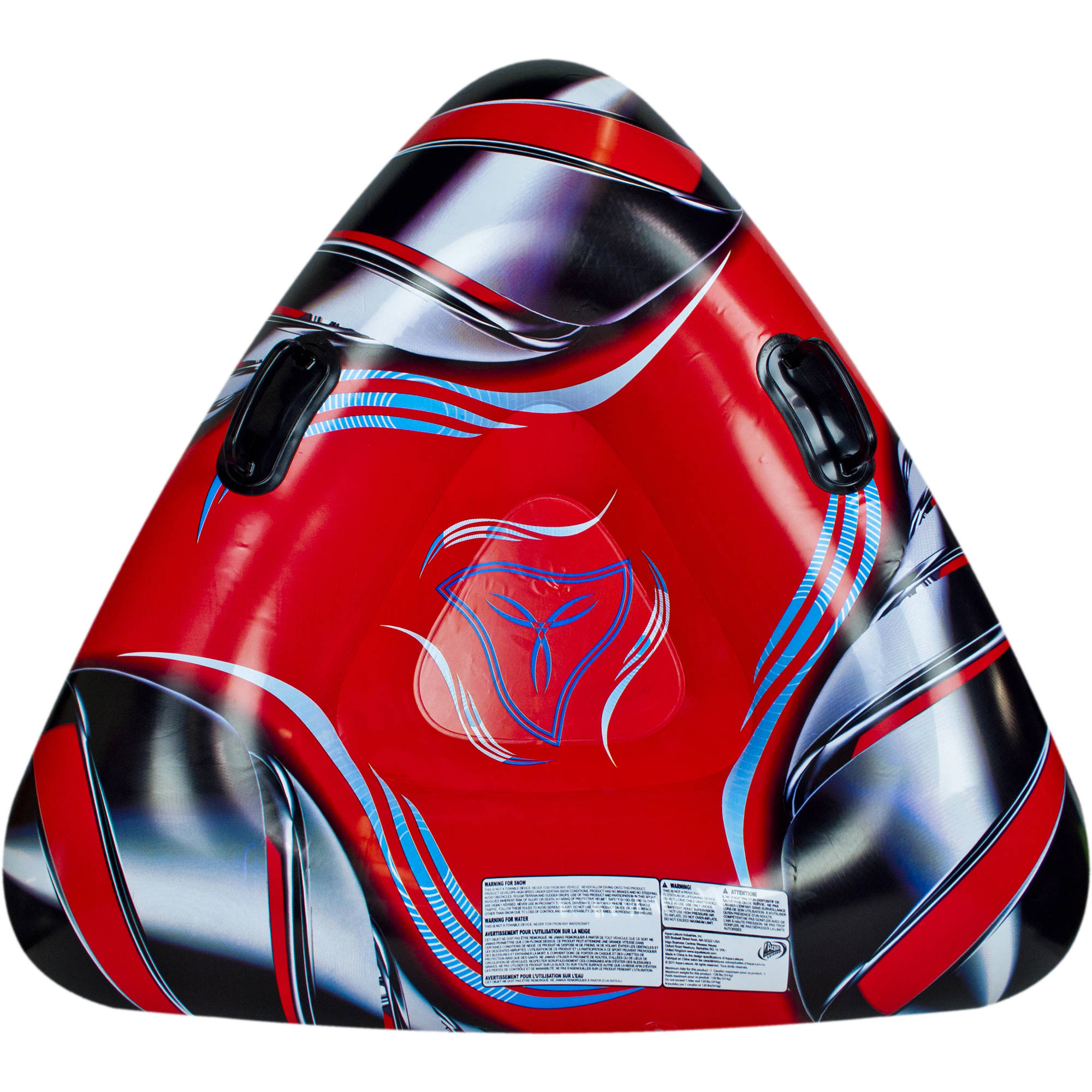 """Pipeline Sno 42"""" Inflated Opaque Rocketsled Wedge by AQUA LEISURE IND INC"""