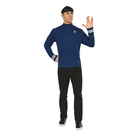 Star Trek Mens Beyond: Spock Classic Adult Shirt Halloween Costume](Spock Costume)