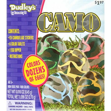 Dudley Camo Egg Decorating Kit