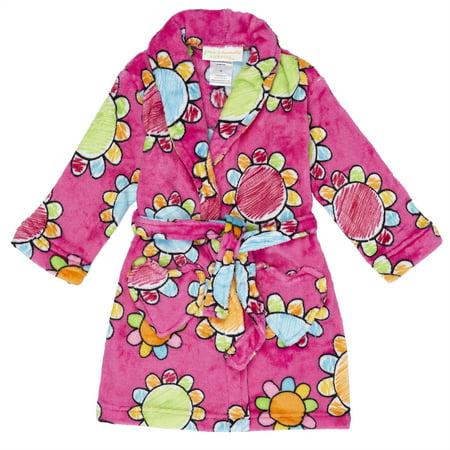 Girls' Komar Kids Plush Robe - Childrens Robe