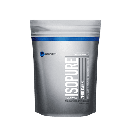 Isopure Zero Carb Protein Powder, Vanilla, 50g Protein, 1 (Best Diet Whey Protein Powder)